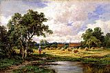 Henry H. Parker At Betchworth, Surrey painting