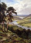 Henry H. Parker Dunkheld & Birnam from Craigibarns painting