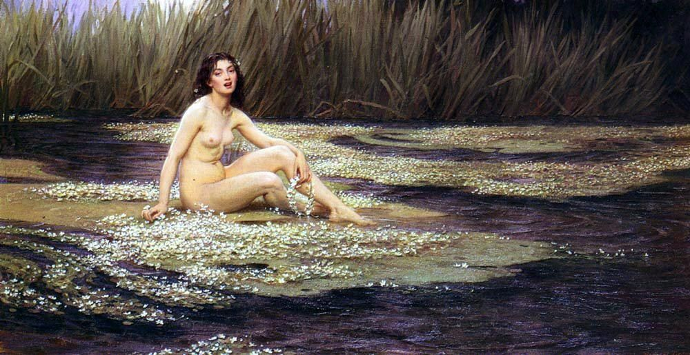 Herbert James Draper The Water Nymph