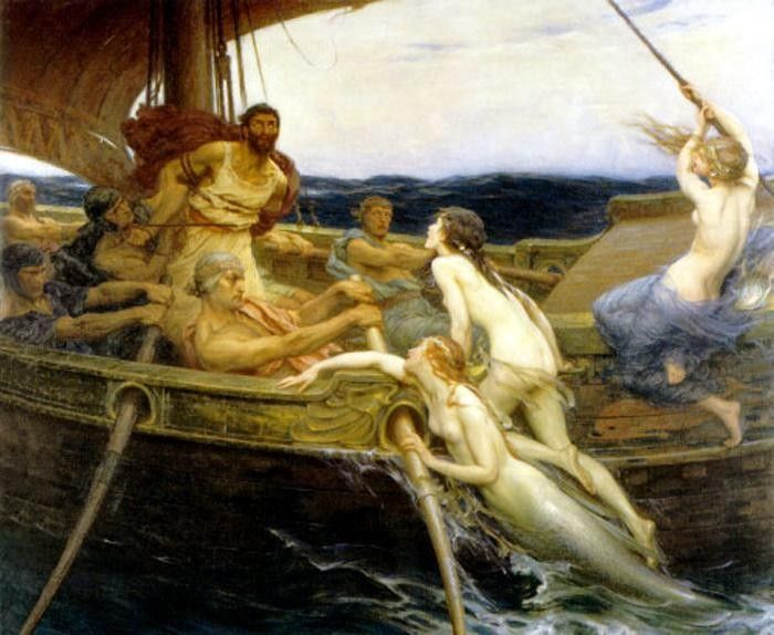 Herbert James Draper Ulysses and the Sirens