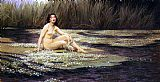 Herbert James Draper The Water Nymph painting