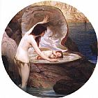 Herbert James Draper Waterbaby painting