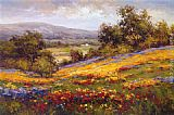 hulsey Paintings - Campo di Fiore I