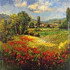 hulsey Paintings - Country Village I