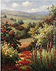 Hulsey Rich Blooms of Spring painting