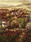 hulsey Paintings - Tuscan Village