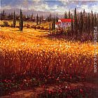 hulsey Paintings - Tuscan Wheat