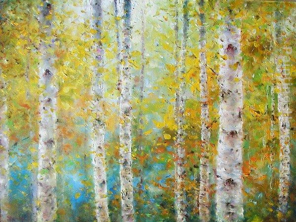 Ioan Popei Birch Trees 01