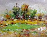 Ioan Popei Meadow 01 painting
