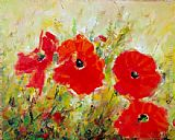 Ioan Popei Poppies painting
