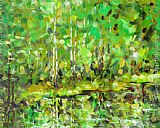 Ioan Popei The Green Wood painting