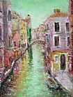 Landscape paintings - Venice III by Ioan Popei