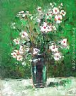 Ioan Popei White Flowers 15 painting