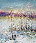 Ioan Popei Winter Landscape 02 painting