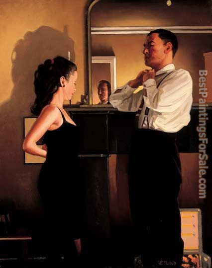 Jack Vettriano Between Darkness and Dawn