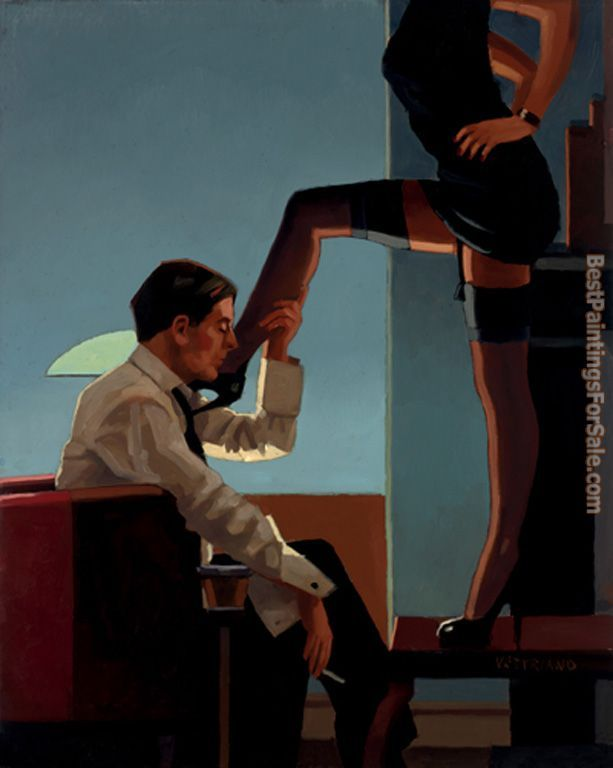 Jack Vettriano Night Calls II