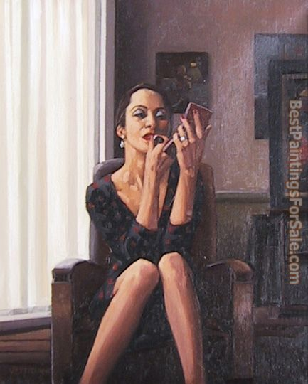 Jack Vettriano Only the deepest Red I