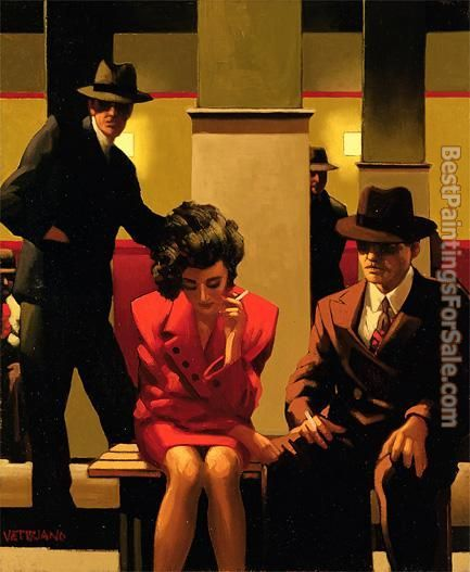 Jack Vettriano Sometimes It's A Man's World