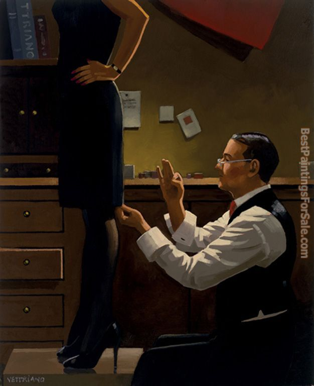 Jack Vettriano The Devoted Dressmaker