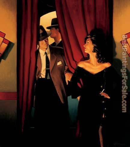 Jack Vettriano The Purple Cat
