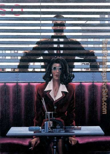 Jack Vettriano There's Always Someone Watching You