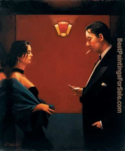 Jack Vettriano a letter of Consequence