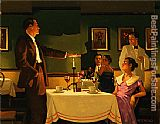 Jack Vettriano A Test of True Love painting