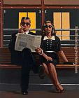Jack Vettriano A Very Married Couple painting