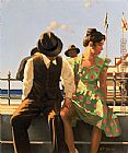 Jack Vettriano A Voyage Of Discovery painting
