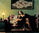 Jack Vettriano After Midnight painting