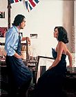 Jack Vettriano Artist and Model painting