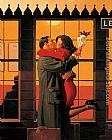 Jack Vettriano Back Where You Belong painting