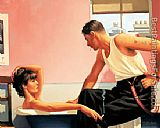 Jack Vettriano Bad Boy Blues painting