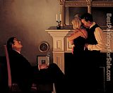 Jack Vettriano Beautiful Losers II painting