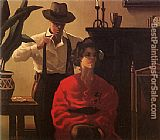 Jack Vettriano Candy and Mr Smith painting