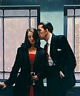 Jack Vettriano Contemplation of Betrayal 2001 painting