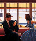 Jack Vettriano Edith and the Kingpin painting