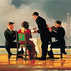 Jack Vettriano Elegy for the Dead Admiral painting