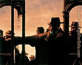 Jack Vettriano Evening Racing painting
