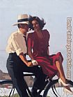 Jack Vettriano Lazy Hazy Days painting
