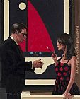 Jack Vettriano Lounge Lizards II painting