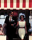 Jack Vettriano Lunchtime Lovers painting