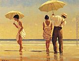 Jack Vettriano Mad Dogs painting