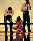 Jack Vettriano Narcissistic Bathers painting