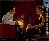Jack Vettriano Queen of Diamonds painting