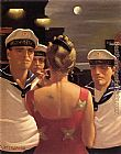 Jack Vettriano Sailor Boys painting