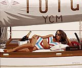 Jack Vettriano Sunshine And Champagne painting