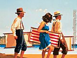 Jack Vettriano Sweet Bird of Youth I painting