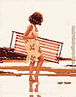 Jack Vettriano Sweet Bird of Youth study painting