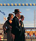 Jack Vettriano The Defenders of Virtue painting